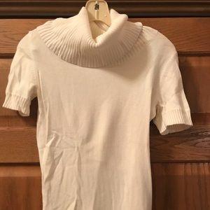 Off-white cowl neck Banana Republic sweater